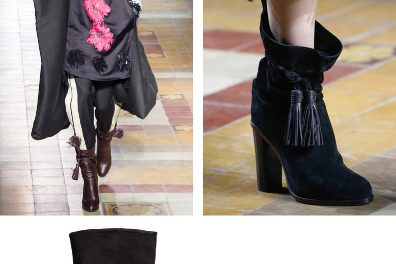 lanvin tassel boots fw15 hm lookalike